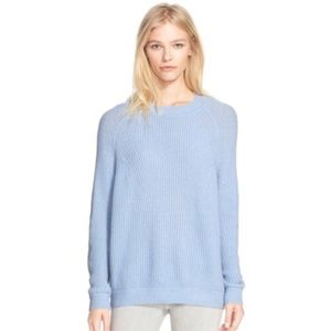 Vince   Directional rib knit wool&cashmere sweater